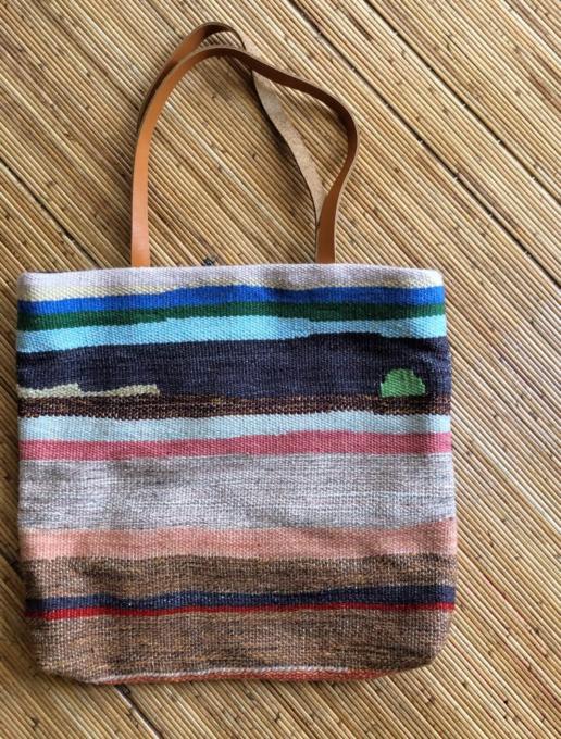 織物かばん