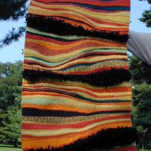 織物マット