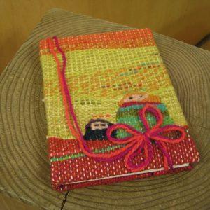 製本つづれ織りノート